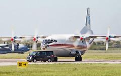 ukraine air alliance an-12bk ur-caj arriving in shannon from toronto 13/5/19. (FQ350BB (brian buckley)) Tags: ukraineairalliance an12bk urcaj einn