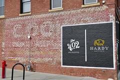 Ghost Sign, Omaha, NE (Robby Virus) Tags: omaha nebraska ne benson hardy coffee co company 402 arts collective painted sign signage ghost faded brick wall ad advertisement