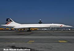 British Airways Concorde-101 G-BOAF (planepixbyrob) Tags: aerospatiale concord concorde gboaf british britishairways retro sst iad washington dulles kodachrome landor