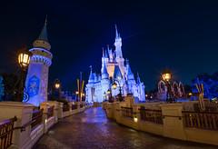 The Ramp (mwjw) Tags: magickingdom disney disneyworld orlando florida night nightshot longexposure mwjw markwalter nikond850 rokinon12mm castle