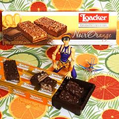 """For me?"" (hongzhizhu) Tags: jjba jojosbizarreadventure naranciaghirga loacker noirorange italian snacks biscuits superactionstatue actionfigure"