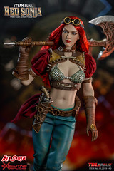 TBLeague-PHICEN PL2019-140AB Steam Punk Red Sonja - 07 (Lord Dragon 龍王爺) Tags: 16scale 12inscale onesixthscale actionfigure doll hot toys phicen tbleague seamless