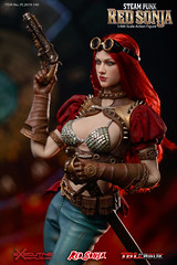 TBLeague-PHICEN PL2019-140AB Steam Punk Red Sonja - 06 (Lord Dragon 龍王爺) Tags: 16scale 12inscale onesixthscale actionfigure doll hot toys phicen tbleague seamless