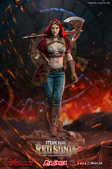 TBLeague-PHICEN PL2019-140AB Steam Punk Red Sonja - 02 (Lord Dragon 龍王爺) Tags: 16scale 12inscale onesixthscale actionfigure doll hot toys phicen tbleague seamless