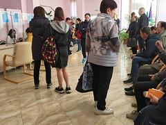 IMG_7343 (Бесплатный фотобанк) Tags: россия краснодар поликлиника очередь регистратура толпа медицина медицинская клиника