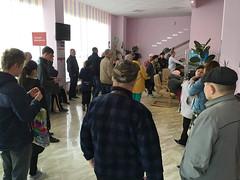 IMG_7338 (Бесплатный фотобанк) Tags: россия краснодар поликлиника очередь регистратура толпа медицина медицинская клиника