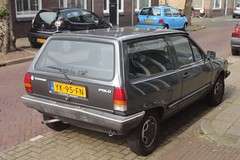 VW Polo 2 1.3 Fox 3-5-1990 YK-95-FN (Fuego 81) Tags: vw polo 2 1990 yk95fn onk sidecode4 volkswagen zhhf72 64tzj7