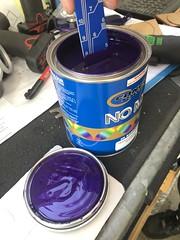Colour match paint has arrived (andrew edgar .......) Tags: mazda rx4 rotary brap zoom car sedan purple blacktown sydney vgpaints