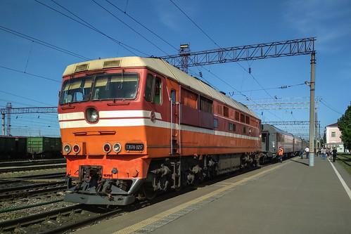 ТЭП70-0217, Кисловодск - Санкт-Петербург, станция Елец ©  neu_zwei