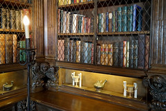 Library - Books (█ Slices of Light █▀ ▀ ▀) Tags: library casa grande second 2nd floor books shelf shelves rare collection william randolph hearst castillo castle 赫斯特 赫斯特城堡 san simeon california 加州 加利 福尼亞 usa sony rx1rm2 rx1rii rx1r ii m2