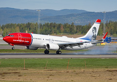 EI-FVJ (Skidmarks_1) Tags: boeing737800 norwegianairinternational eifvj engm norway osl oslogardermoenairport aviation aircraft airport airliners