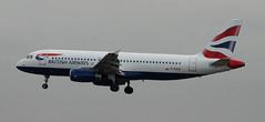 Airbus A320: 1782 G-EUUE A320-232 British Airways Newcastle Airport (emdjt42) Tags: geuue a320 britishairways newcastleairport