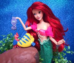 Advice from Sea Friends (honeysuckle jasmine) Tags: sea barbie mermaid thelittlemermaid dolls doll sebastian flounder ariel princess disneyprincess disney