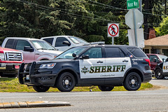 Snohomish County Sheriff's Office Paine Field Airport Police Ford Police Interceptor Utility SUV (andrewkim101) Tags: snohomish county sheriffs office paine field airport police ford interceptor utility suv everett wa washington state