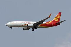 Hainan Airlines Boeing 737-84P(WL) B-5580 (EK056) Tags: hainan airlines boeing 73784pwl b5580 bangkok suvarnabhumi airport