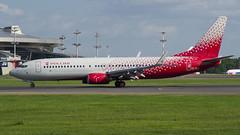 VP-BOB Rossiya - Russian Airlines Boeing 737-8LJ(WL) (Nathan_Ivanov) Tags: airplane aircraft vko vnukovo spotting uuww boeing boeing737