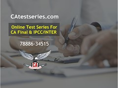 Online Study Material for CA Final and IPCC at CA Test Series (catestseries) Tags: online study material for ca final ipcc test series