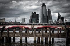 The City, London, UK (KSAG Photography) Tags: landscape moody london uk unitedkingdom england europe britain city skyscraper building architecture bridge thames river may 2019 nikon urban hdr