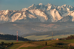 A Distant Vista (cezary.morga) Tags: landscape nature poland tatra mountains hills spring sunrise morning snow