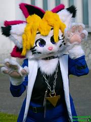 Yu-gi-ho version Furry (sombl.nocosplay) Tags: furry yugioh cosplay fanamanga 2019