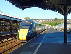 802021 & 802019 Truro (Marky7890) Tags: gwr 802021 class802 iet 1a78 truro railway cornwall cornishmainline train 802019