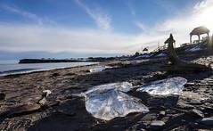 Diamonds on the Beach (Danny VB) Tags: ice diamonds diamant plage beach playa capdespoir gaspésie ocean sable sand dannyboy quebec canada sony mirrorless alpha alpha6300 a6300 sonyilce6300