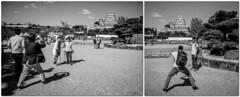 Himeji - Himeji-jo (-dow-) Tags: castello castle giappone himeji japan 姫路 日本 himejijo monochrome fujifilm x70