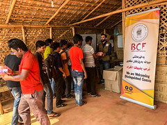 BCF Delivering Humanitarian Aids to The Rohingya Refugees in Kutupalog camp, in Cox's Bazar, Bangladesh (7)
