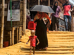 BCF Delivering Humanitarian Aids to The Rohingya Refugees in Kutupalog camp, in Cox's Bazar, Bangladesh (5)