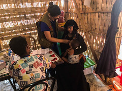 BCF Delivering Humanitarian Aids to The Rohingya Refugees in Kutupalog camp, in Cox's Bazar, Bangladesh (3)