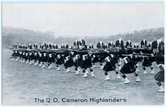 The Queen's Own Cameron Highlanders (pepandtim) Tags: postcard old early nostalgia nostalgic aldershot searchlight military tattoo 1894 1920s 1930s rushmore arena army show 2010 2012 garrison 2013 bombing 1972 ira queens own cameron highlanders 62tqc43