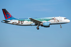 Brussels Airlines A320-214 OO-SNE (wapo84) Tags: bru ebbr a320 oosne brusselsairlines bruegel