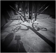 Fotografía Estenopeica (Pinhole Photography) (Black and White Fine Art) Tags: fotografiaestenopeica pinholephotography lenslesscamera camarasinlente lenslessphotography fotografiasinlente pinhole estenopo estenopeica stenopeika sténopé sanjuan oldsanjuan viejosanjuan puertorico bn bw niksilverefexpro2 lightroom3