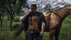 Man With no Name (RDR2) (McIovin) Tags: