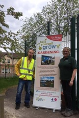 Scott and Amanda HYG Gardening partnership with Fair Deal