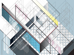 DX.030 (Marks Meadow) Tags: abstract abstractart geometric geometricart design abstractdesign neogeo color pattern illustrator vector vectorart hardedge vectordesign interior architecture architectural blackwhite surreal space perspective colour asymmetry structure postmodern element cubism technology technical diagram composition aesthetic constructivism destijl neoplasticism decorative decoration layout contemporary symmetrical mckie isometric