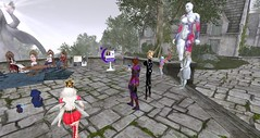Relay Rap at Light of Valoth (Holocluck Henly) Tags: holodoc holocluck secondlife fantasyfaire relayforlife rfl