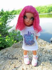 IMG_2741 (nadena14) Tags: wig bjdwig bjd handmadedoll bjddoll dollphoto fairyland bjdphotographycoloringh littlefee