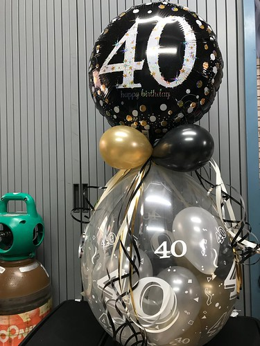 Kadoballon Verjaardag 40 Jaar
