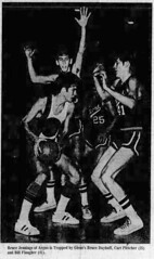 1972 - Bruce Jennings basketball - South Bend Tribune - 20 Jan 1972