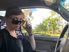 140/365 (boxbabe86) Tags: iphone8plus truck selfie driving sunglasses raybans santaclarita monday may 365days