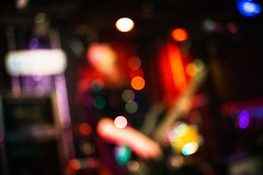 #Bassplayer #abstract ([ raymond ]) Tags: abstract bassplayer rock rockandroll wfmu jerseycity sumoprincess montyhall musician bokeh bass concert