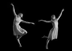 Being my own twin (Toftus Photography) Tags: tromsø troms norway no norge nordnorge northernnorway bw blackandwhite sorthvit sh monochrome beauty beautiful hermosa beau joli belle magnífico vakker smuk 美丽 綺麗な красивый woman girl jente pige female femme femelle femenino kvinde kvinne женщина самка дама 女人 妇女 女性 frau mädchen 女孩 女の子 девушка photostudio fotostudio studio model modell portrett portrait dans dance танец ダンス 舞蹈 danza tanz danse art kunst artwork kunstverk