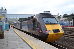 Cross Country Trains HST 43301 (Will Swain) Tags: exeter st davids station 17th november 2018 gwr first group south west cross country trains hst 43 totnes train rail railway railways transport travel uk britain vehicle vehicles england english europe 43301 class 301
