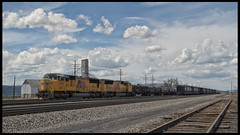 _JM24154 (saltley1212) Tags: union pacific sd70m 4560 3918 sidings montpelier idaho