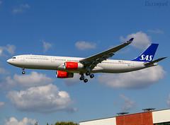 F-WWCE Airbus A330 Scandinavian (@Eurospot) Tags: fwwce sereh airbus a330 a330300 sas scandinavian lfbo toulouse blagnac 1928