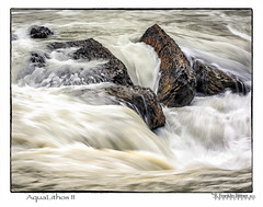 Yoho-2013-712202-AquaLithos II Art Oil ReDo.jpg (Revybawb2010) Tags: water flickrups artoileffect naturalbridge golden2013 waterinmotion yoho artfinal