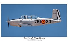 Beechcraft T-34A Mentor (Ignacio Ferre) Tags: fio fundacióninfantedeorleans lecu cuatrovientos madrid españa spain mentor beechcraftt34a nikon spotting aeronave aircraft airplane airshow avión aviation avioneta aviación