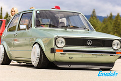 "VW Golf MK1 with Turbo fans • <a style=""font-size:0.8em;"" href=""http://www.flickr.com/photos/54523206@N03/47849034452/"" target=""_blank"">View on Flickr</a>"