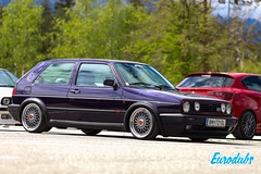 """VW Golf MK2 GTI Fire & Ice • <a style=""""font-size:0.8em;"""" href=""""http://www.flickr.com/photos/54523206@N03/47849040152/"""" target=""""_blank"""">View on Flickr</a>"""